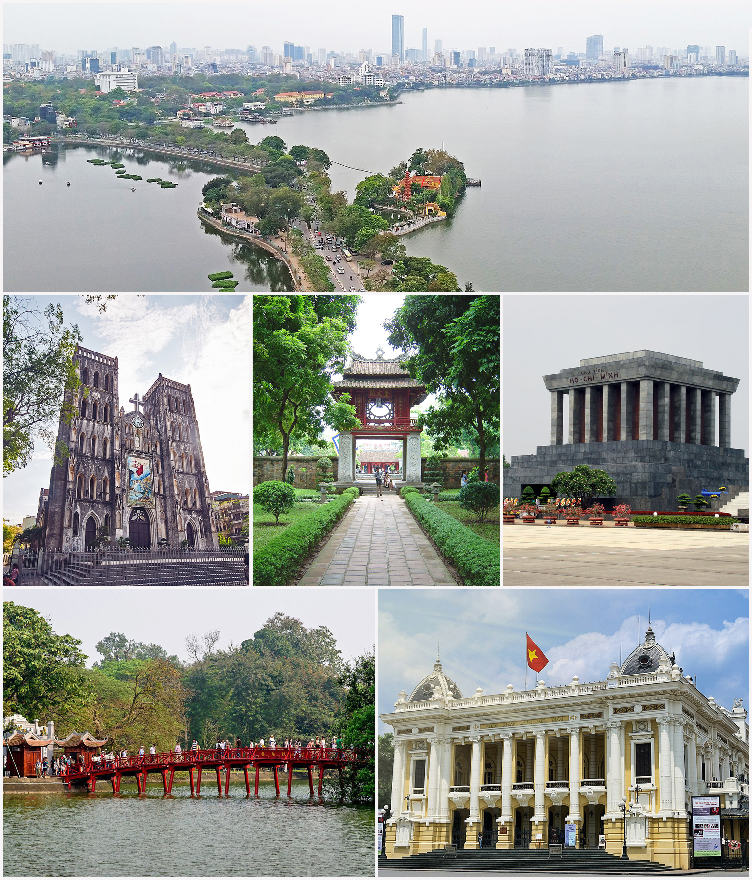 Major attractions to visit in Hanoi
